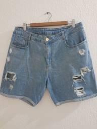 Título do anúncio: Bermudinha Jeans Feminina da Sawary 50,00 Retirar em Piedade