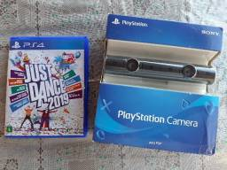 PlayStation camera +Just dance 2019
