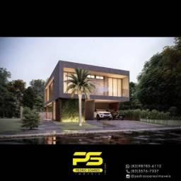 Casa com 5 dormitórios à venda, 325 m² por R$ 2.000.000 - Ponta de Campina - Cabedelo/PB
