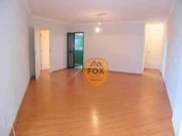 Apartamento com 3 dormitórios para alugar, 127 m² por R$ 2.100/mês - Água Verde - Curitiba