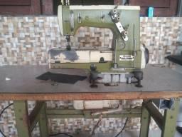 Máquina de costura goleira industrial