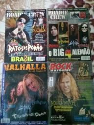 Revistas de metal a venda
