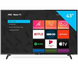 "(Lacrada) Smart TV AOC 43"" Roku Tv"