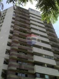 Título do anúncio: Apartamento com 3 dormitórios para alugar, 105 m² por R$ 2.500/mês - Graças - Recife/PE