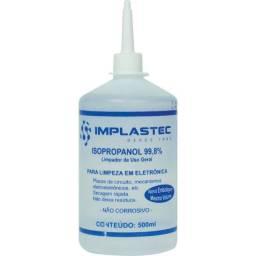 Álcool Isopropílico 500ml Implastec 99,8% Limpa Contato