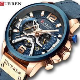 Curren 8329 relógio de quartzo original.