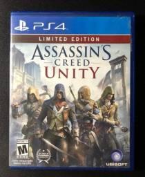 Assassina Creed Unity e Syndicate - PS4