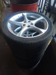 Título do anúncio: Vendo rodas aro17
