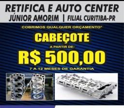 Cabeçote Logan / Clio / Sandero / Onix / Prisma / Celta / Uno / Palio
