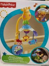 Móbile Musical Zoo 2 em 1 Fisher-price - Girafa Magnífico