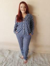 Pijama Americano Poá