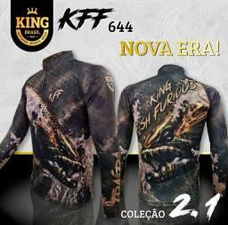Camisa com proteção UV 50+ - Pesca KING