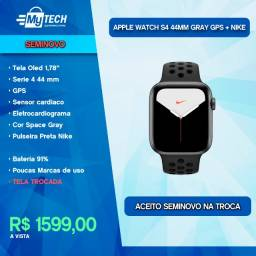 Título do anúncio: Apple Watch Serie 4 44mm GPS Nike (Seminovo / Tela Trocada / Bateria 91%)