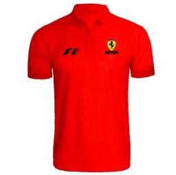 Camiseta  Polo Camisa Ferrari