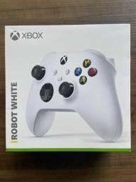 Controle Xbox Series/One/PC Robot White NOVO em até 3x sem juros no cartão