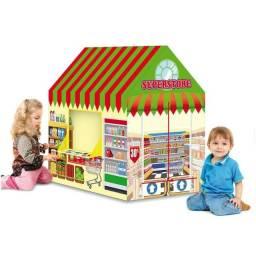Casinha ou Cabana Infantil - Modelo Lojinha