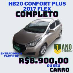 ? HB20 Confort Plus 2017 Flex?