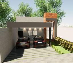 Vende-se casa em processo de construção