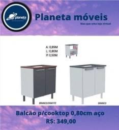 Título do anúncio: Balcão Cooktop 0,80cm aço / AQUÁRIOS AQUÁRIOS AQUÁRIOS AQUÁRIOS AQUÁRIOS