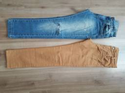 Calça jeans infantil tam 8