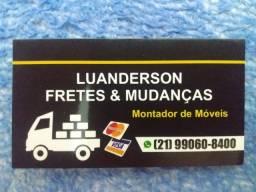 Mudanças e fretes temos montador de móveis e ajudantes aceitamos cartões . *
