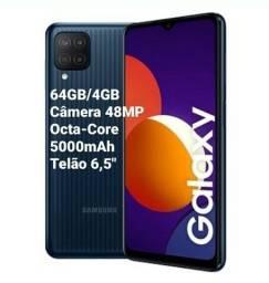 Smartphone Samsung Galaxy M12 64GB/4GB 6,5? Câm. Quádrupla 48MP