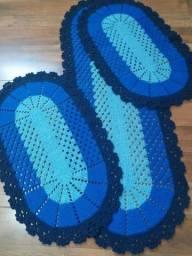 Promoção de jogos de cozinha em crochê a pronta entrega entrega grátis