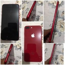 Título do anúncio: IPHONE 8 PLUS RED, 64GB