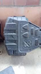 Peito aço.Protetor cárter óleo motor (em poliuretano)Ecosport 4x4 2007 a 2012.