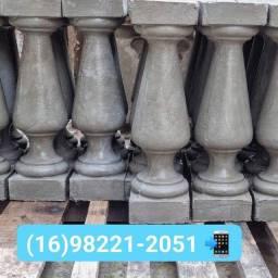 Balaustres de concreto