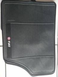 Kit de tapetes em PVC universal bordado
