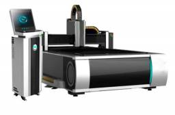 Maquina de corte a laser metal fonte fibra ótica
