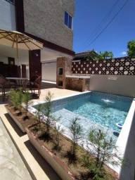 Apartamento no Cristo, 02 quartos com varanda e piscina.