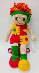 Boneca de Crochê Emília