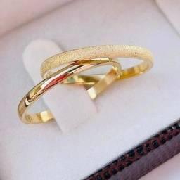 Título do anúncio: Alianças ouro 18k 749,99 é aqui na J&E jóias