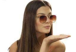 Título do anúncio: Óculos de sol - Hexagonal Unissex