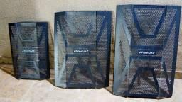 telas p caixas de som em aço Apucarana