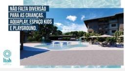 Flat com 3 dormitórios,2 suítes e 2 vagas à venda, 73 m² por R$ 740.000 - muro alto - Odon
