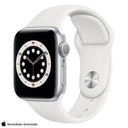 Apple Watch série 6 44mm, 1 ano de garantia