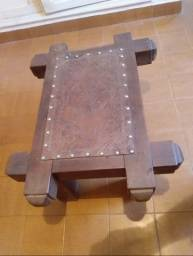 Vendo mesa de centro rústica