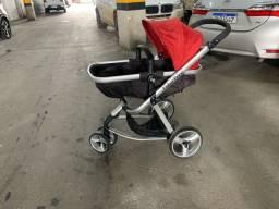 Carrinho de bebê fisher price 2x1
