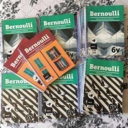 Pré-vestibular Bernoulli 6v Novo Material Completo