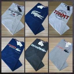 Camisetas - Tecido de Primeira linha - Atacado e varejo