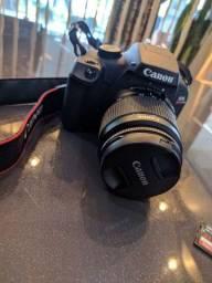 Câmera Canon T100 - Nova