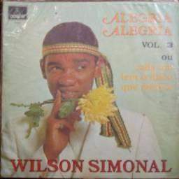 "Disco de Vinil 12"" /LP - Wilson Simonal - Alegria Alegria - Vol 3"