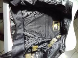 Jaqueta de Couro Moto