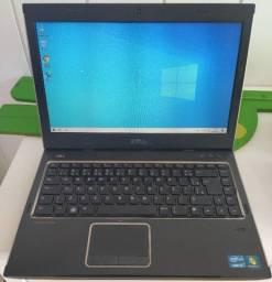 Notebook Dell usado Intel i3 com SSD120GB Pronto para uso