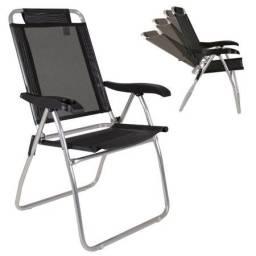 Cadeira de Praia MOR Boreal Reclinável em Alumínio