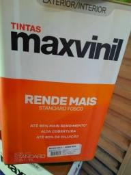 Oferta tinta rende 500m² na cor gelo 18L na Cuiabá tintas