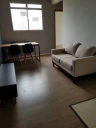 Apartamento novo semimobiliado no Bairro Bela Vista para locação